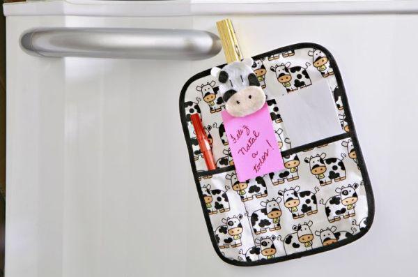 Este porta-recados para presentear deixa as cozinhas lindas (Foto: mulher.uol.com.br)