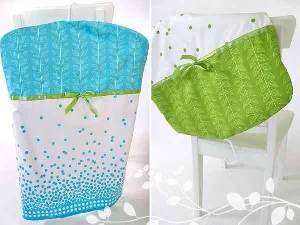 Com esta capa de tecido para guardar roupas as suas peças ficarão protegidas (Foto: artesanatossempre.blogspot.com.br)