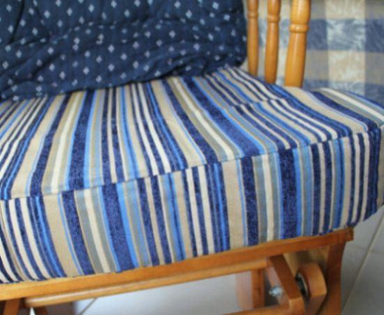 Cobrir uma almofada para cadeira é mais fácil que você imagina (Foto: thecraftymummy.com)
