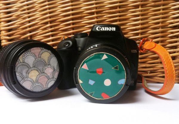 Personalizar tampa da máquina fotográfica é mais fácil do que você imagina (Foto: small-good-things.com)