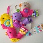 Todos gostam de chaveiros em feltro (Foto: akezine.com)
