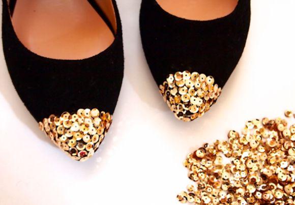 Existe uma infinidade de ideias legais de artesanatos com lantejoulas, escolha a sua preferida (Foto: misskristurner.com)