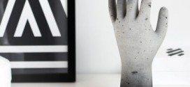 Como Fazer uma Mão de Concreto para Decoração
