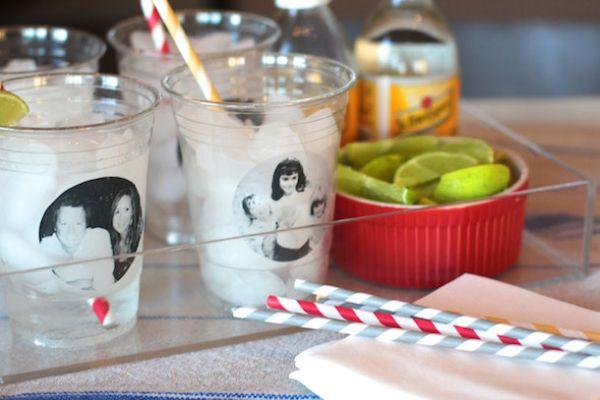 É muito fácil personalizar copos descartáveis (Foto: camillestyles.com)