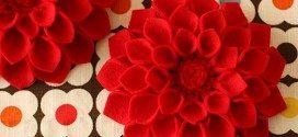 8 Ideias de Flores em Feltro para Você Fazer em Casa