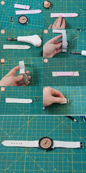 67e3caa154c Como Customizar um Relógio de Pulso Usado Passo a Passo