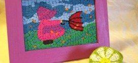 Como Fazer Mosaico com EVA Passo a Passo