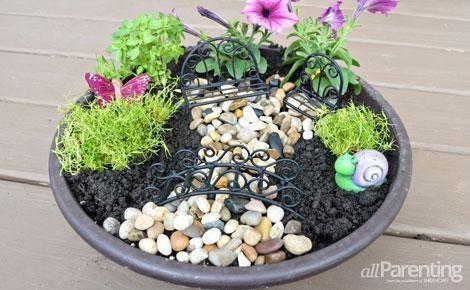 Montar um jardim de fadas é muito fácil (Foto: allparenting.com)