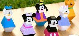 Moldes 3D da Turma do Mickey para Imprimir