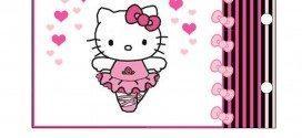 Moldes para Festa Infantil da Hello Kitty