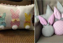 almofadas de páscoa decoradas