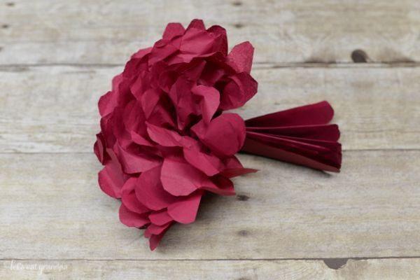 4 Ideias De Flores De Papel De Seda Faceis De Fazer