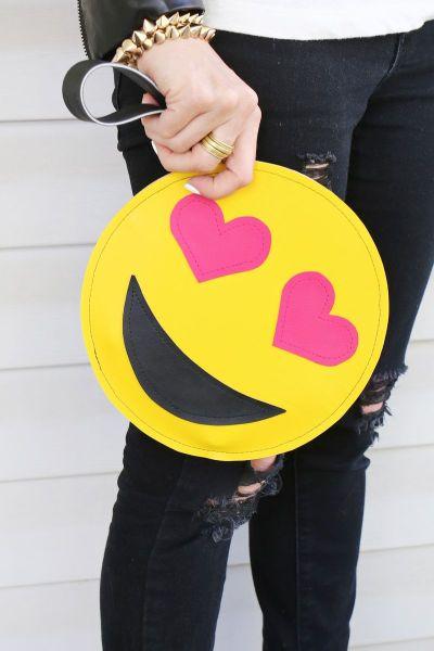 Faça esta clutch divertida para repaginar os seus looks sem gastar muito (Foto: abeautifulmess.com)