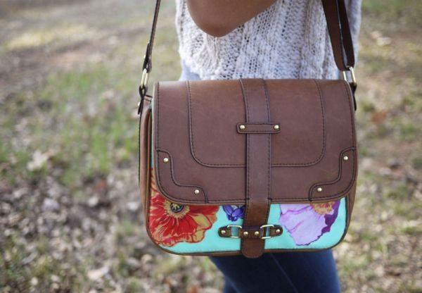 Decoupage em bolsa pode ter o estilo e cores que você quiser (Foto: honestlywtf.com)