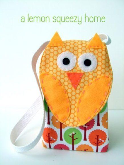 Saco coruja de tecido pode também ser usado por adultos (Foto: lemonsqueezyhome.com)