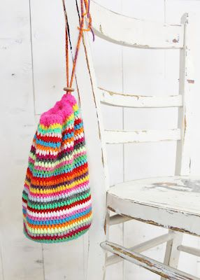 dde09e5a3 18 Ideias para Você Fazer Bolsas de Crochê