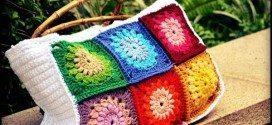 Invista em pelo menos uma destas ideias para você fazer bolsas de crochê (Foto: lacantatrice.com)