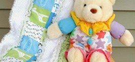 Cobertor Infantil com Passo a Passo