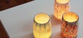 Luminária de Mesa com Tecido Passo a Passo