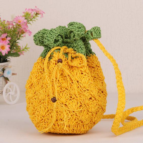 modelo de bolsa de croche