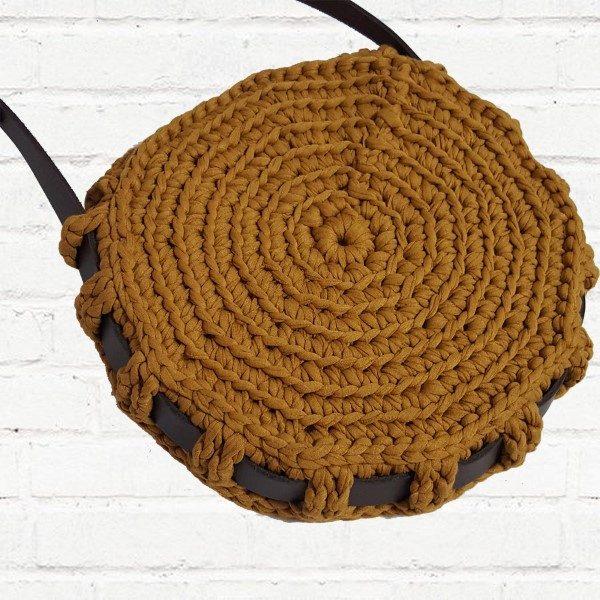 dc5ffa089261 18 Ideias para Você Fazer Bolsas de Crochê