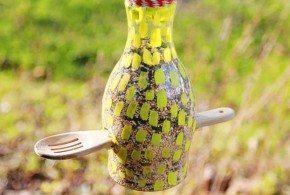 Alimentador de Pássaros de Material Reutilizado Passo a Passo