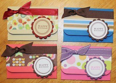 Este cartão de presente pode ter o estilo que você quiser (Foto: kimoconnell.com)