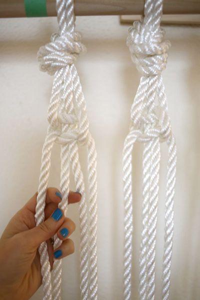 Cortina de macram passo a passo - Como coser cortinas paso a paso ...