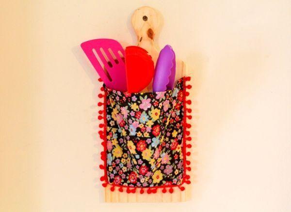 Artesanato feito com tábua de carne é lindo e útil (Foto: blog.elo7.com.br)