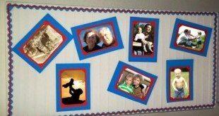 Este mural para o dia dos pais vai emocionar todos os pais (Foto: hak.com.br)