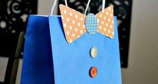 Embalagem para Presente do Dia dos Pais Decorada Passo a Passo