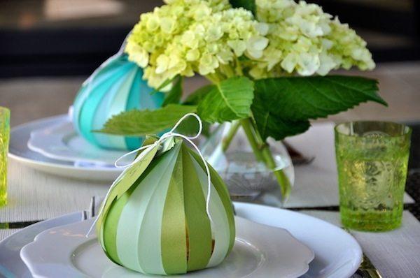 Fruta de papel para decorar mesa de jantar é linda e vai fazer a sua refeição ficar mais charmosa (Foto: camillestyles.com)