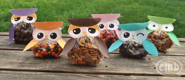 Coruja para lembrancinha infantil é fofa e sempre faz o maior sucesso (Foto: club.chicacircle.com)
