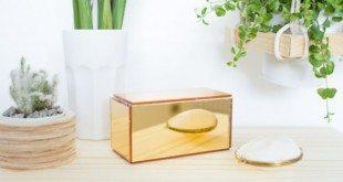 Sua casa vai ficar linda com esta caixa espelhada (Foto: designsponge.com)