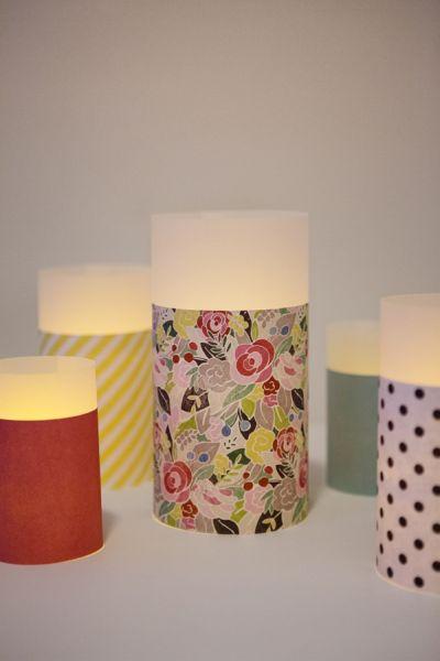 Lanternas de papel decorativas são divertidas e decoram de forma fácil (Foto: somethingturquoise.com)