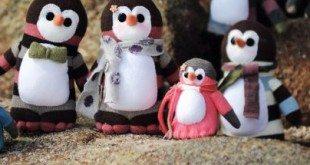 Pinguins de Meia – Passo a Passo