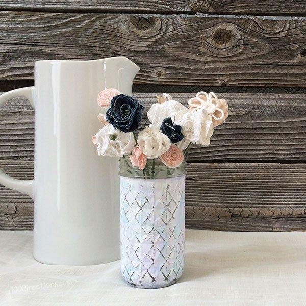 Você pode também fazer esta  pintura envelhecida em vasos em outras peças (Foto: todayscreativelife.com)