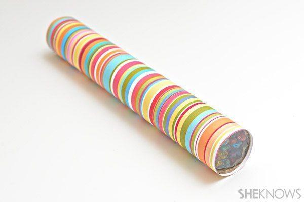 Artesanato infantil com rolo de papel-toalha é divertido e fácil de ser feito (Foto: sheknows.com)