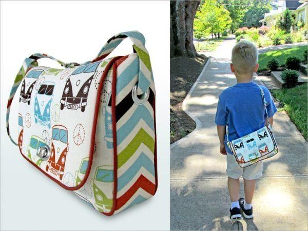 Bolsa De Papelão E Tecido Passo A Passo : Bolsa infantil de tecido passo a artesanato
