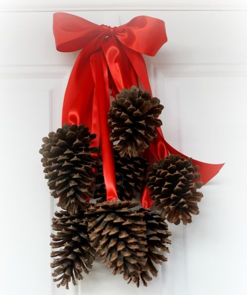 Ideias de decoração de Natal com pinhas são diferentes, mas lindas (Foto: brownsugartoast.com)