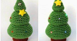 Ideias de artesanatos de Natal em crochê são fofas e decoram de modo diferenciado (Foto: crochet.craftgossip.com)