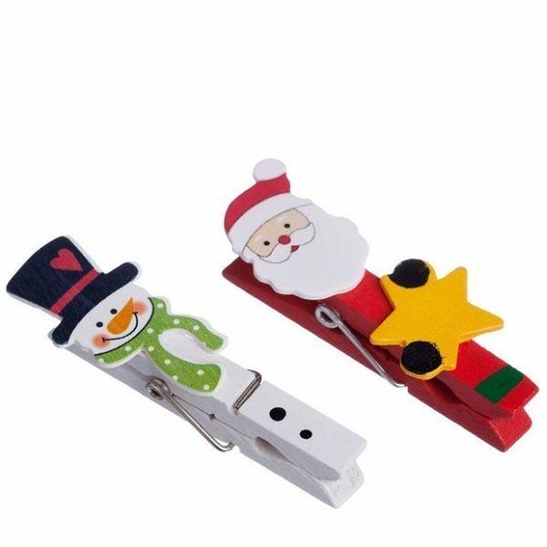 Há muitos artesanatos de Natal para fazer com pregador, escolha o seu preferido (Foto: upcycled-wonders.com)