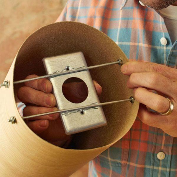 lumin225rias feitas com latas passo a passo artesanato