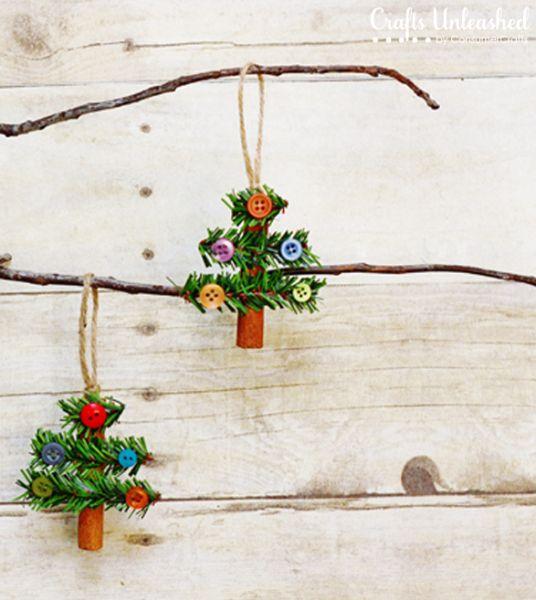 Esta miniárvore de Natal para decoração é linda e aromática (Foto: blog.consumercrafts.com)
