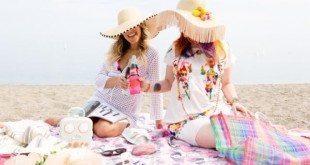 Coloque as mãos na massa e faça estas ideias para decorar chapéus de praia gastando pouco, para o próximo verão (Foto: stephaniesterjovski.com)