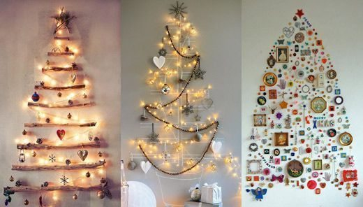 Aproveite as ideias para fazer árvore de Natal de parede e decore a sua casa de maneira diferente (Foto: ethicalocean.com)