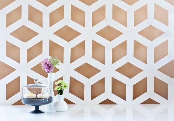 Artesanato decorativo com cartolina é diferente e nem parece que foi feito com material tão barato (Foto: projectwedding.com)