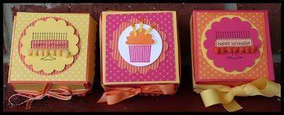 Caixinhas de papel personalizadas são lindas e encantam (Foto: pinkbuckaroodesigns.blogspot.com.br)