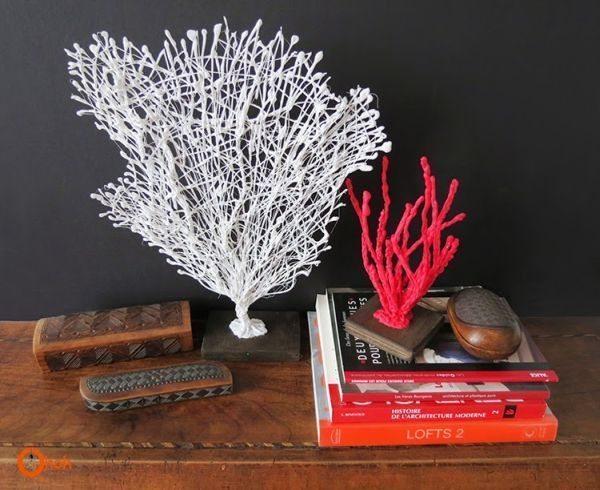 Corais artificiais podem ficar em qualquer cômodo de sua casa (Foto: ohohblog.com)