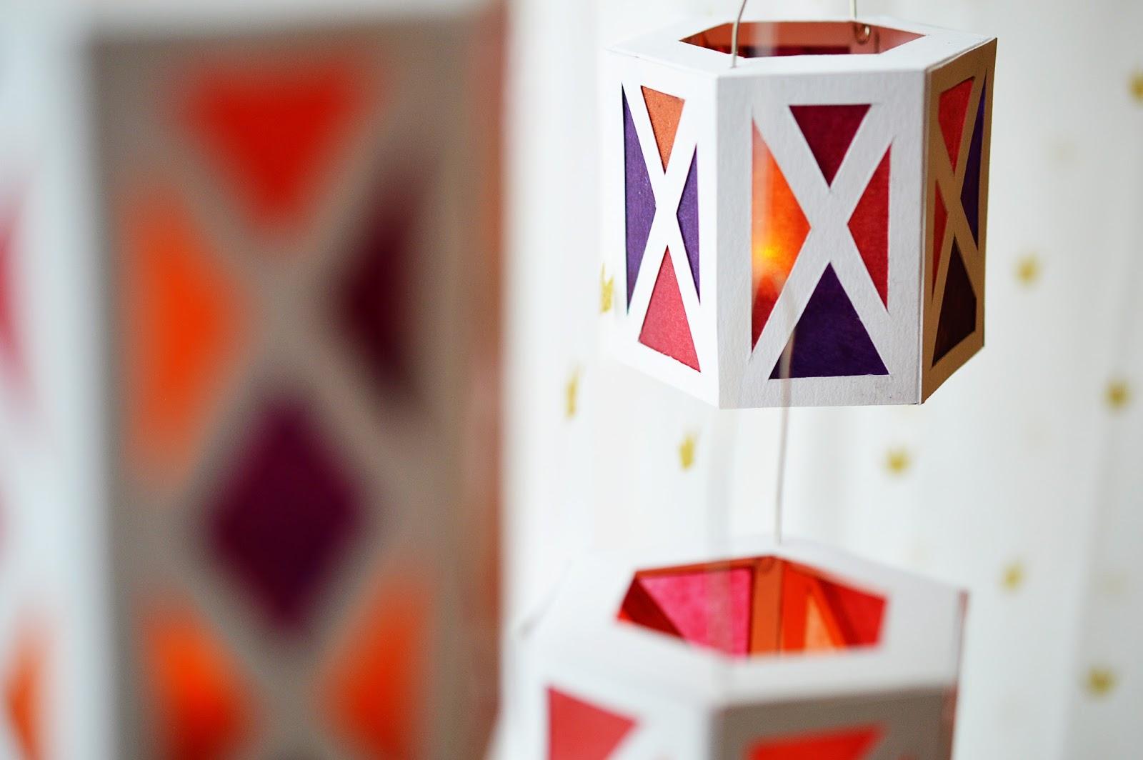 Lanterna de papel para decoração pode ter o estilo que você desejar (Foto: mottesblog.blogspot.de)